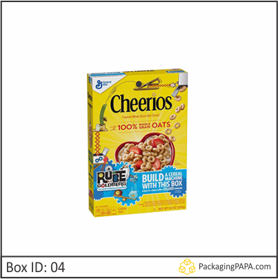 Custom Rube Goldberg Cereal Boxes 04