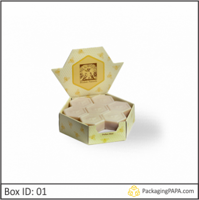 Custom Soap Hexagon Packaging Boxes 01