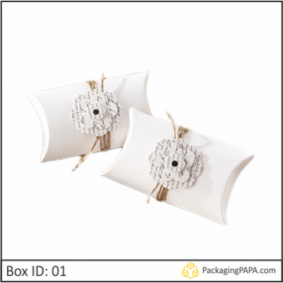 Custom Wedding Gift Pillow Boxes 01