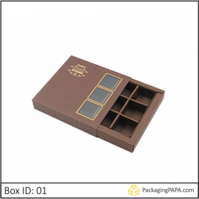 Custom Window Chocolate Boxes 01