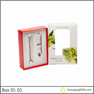 Custom Window Die Cut Insert Boxes 01