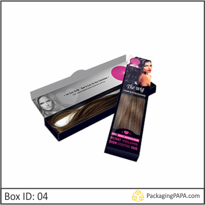 Custom Window Hair Extension Boxes 04