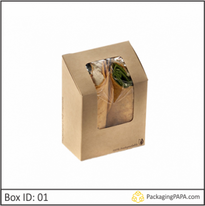 Custom Window Packaging Boxes 01