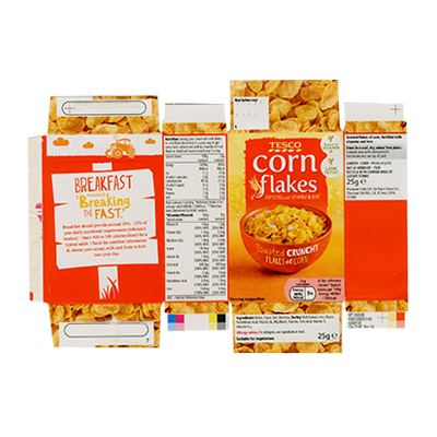 Custom Corn Flakes Cereal Boxes 3