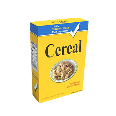 Custom Whole Grain Cereal Boxes 1