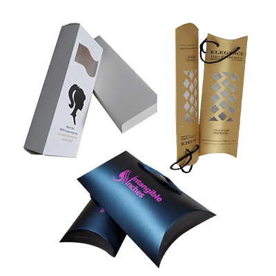 Custom Printed Hair Extension Packaging Boxes 3