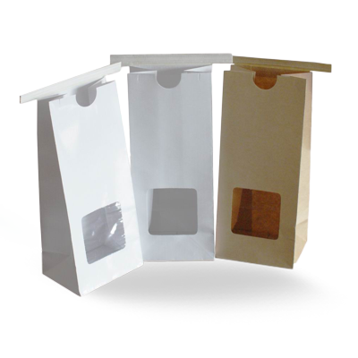 Custom Kraft Window Packaging Bags 4