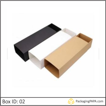Cardboard Soap Sleeves box 02