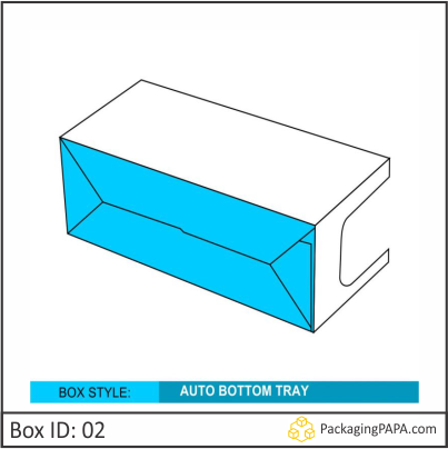 Custom Auto Tray Bottom Box