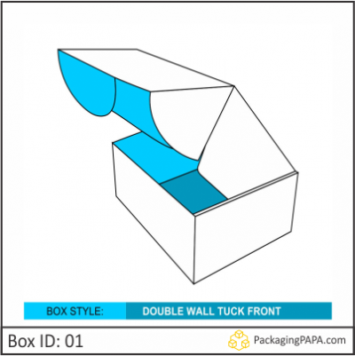 Custom Double Wall Tuck Front Boxes 01