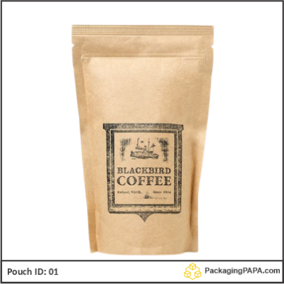 Coffee brown Kraft paper 01