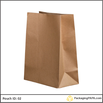 Pouch brown Kraft paper 02