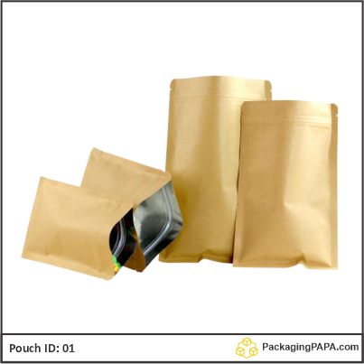 Pouch brown Kraft paper 04