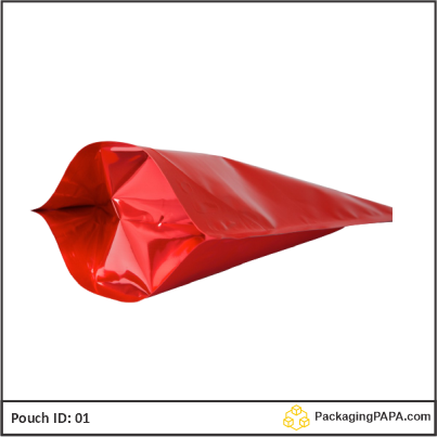Standup Pouch Red 04