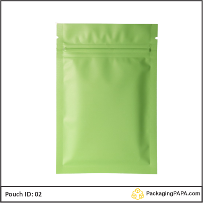 recyclable stand up pouches green 02