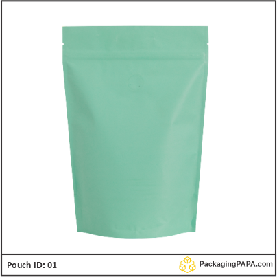 recyclable stand up pouches green 03