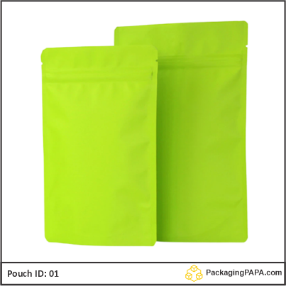 recyclable stand up pouches green 04